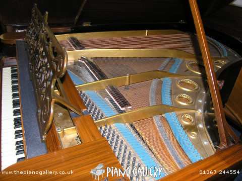 "Model B Bechstein 6'5"" Grand Piano - Inside"