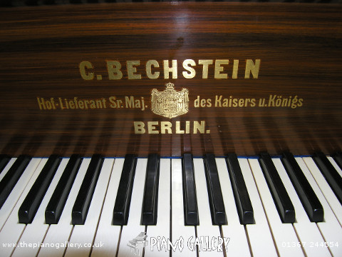 "Model B Bechstein 6'5"" Grand Piano - Keyboard"
